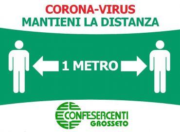 CoronaVirus, Fase 2: i cartelli Confesercenti per la tua attività