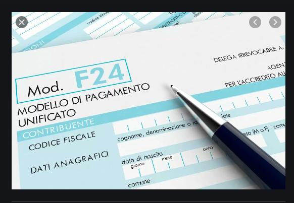 F24 credito imposta