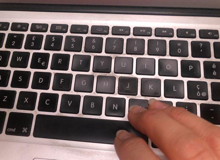 tastiera web internet