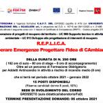 Corso gratuito R.E.P.LI.CA – Recuperare Emergenze Progettare l'Idea di CAmbiamento